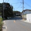 写真: 新井城(三浦市)内引橋跡