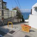 写真: 新井城 堀切(三浦市)横堀海岸動線