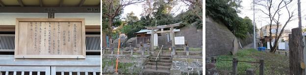 Photos: 和田城(和田氏館。三浦市)八雲社