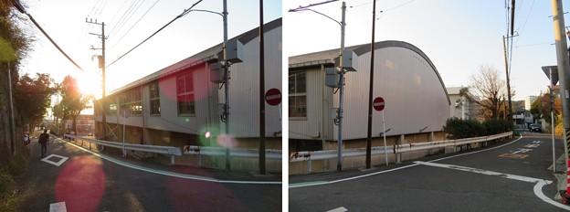 蘆名氏館(横須賀市)東角