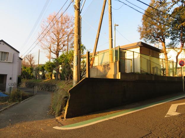 蘆名氏館(横須賀市)西角
