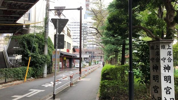 JR埼京線北与野駅(さいたま市中央区)南口~東の道