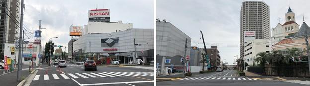 JR埼京線北与野駅(さいたま市中央区)南口~中山道 赤山通り交差点
