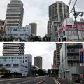 写真: JR埼京線北与野駅(さいたま市中央区)南口~中山道 赤山通り交差点