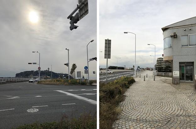 江の島入口交差点(藤沢市)片瀬江の島交番