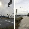 写真: 江の島入口交差点(藤沢市)片瀬江の島交番