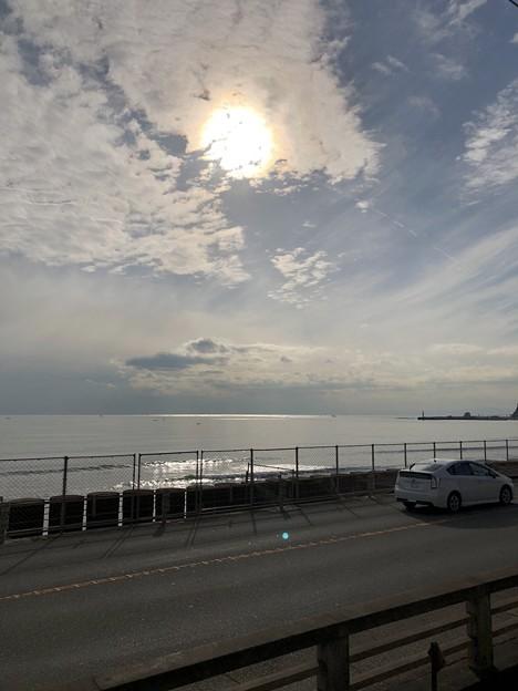 江ノ電鎌倉高校駅(鎌倉市)七里ガ浜