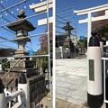 白幡神社(藤沢市)大御神灯