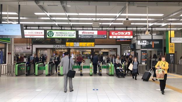 JR藤沢駅改札内(藤沢市)