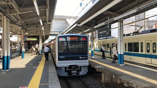小田急江ノ島線 藤沢駅ホーム(藤沢市)