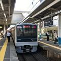 写真: 小田急江ノ島線 藤沢駅ホーム(藤沢市)