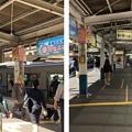 Photos: 小田急江ノ島線 藤沢駅ホーム(藤沢市)