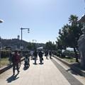 写真: 江の島大橋(弁天橋)江島神社 龍燈籠