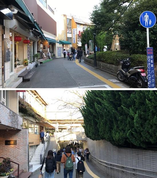 鎌倉駅地下道(鎌倉市)西口側