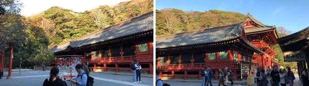 鶴岡八幡宮(鎌倉市)西側回廊