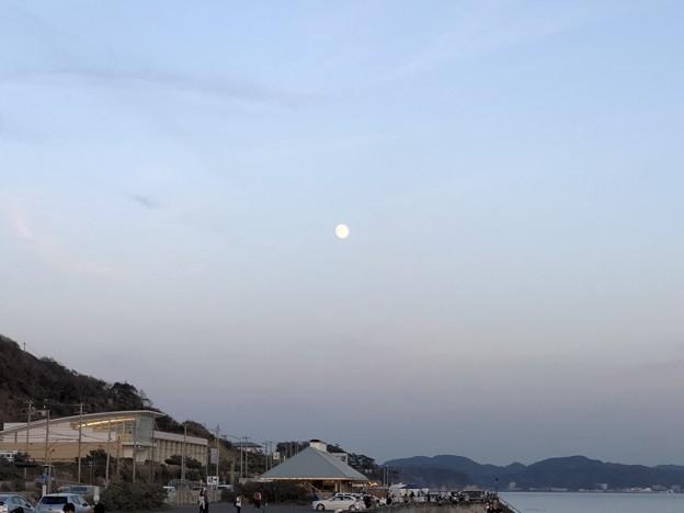 Photos: 七里ガ浜海岸駐車場より(神奈川県鎌倉市)16:55