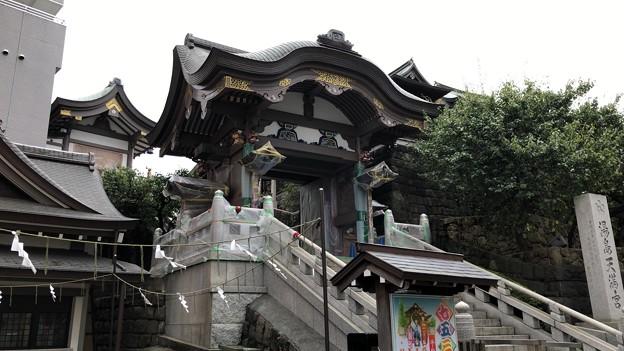 湯島天満宮(文京区)夫婦坂