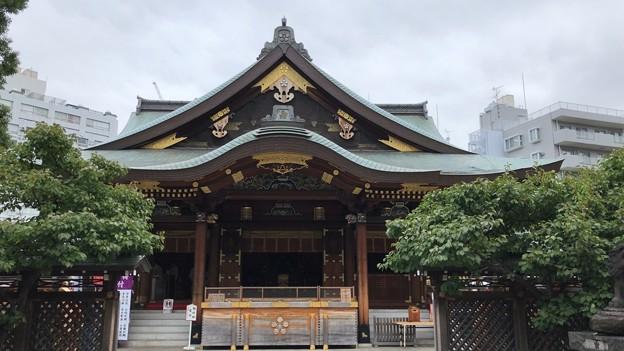 湯島天満宮(文京区)拝殿