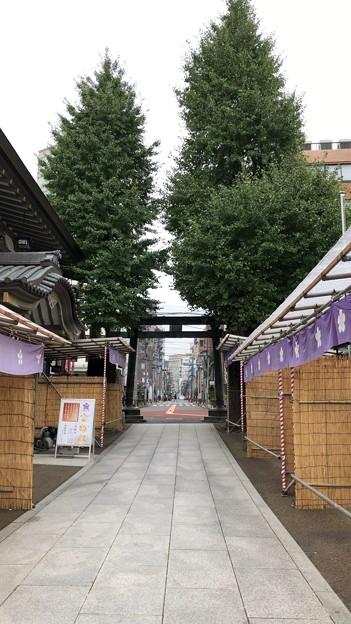 湯島天満宮(文京区)銅鳥居