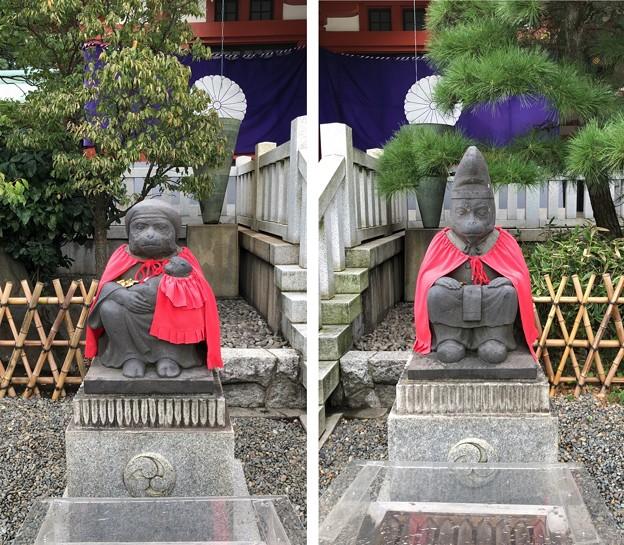 山王日枝神社(千代田区永田町)神猿像
