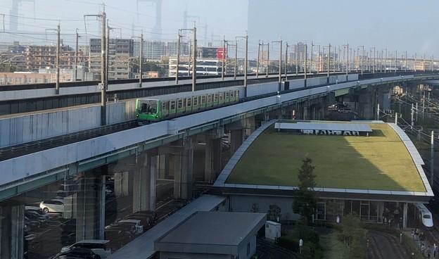 鉄道博物館(大宮区)パノラマデッキ