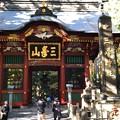 三峯神社(秩父市)随身門