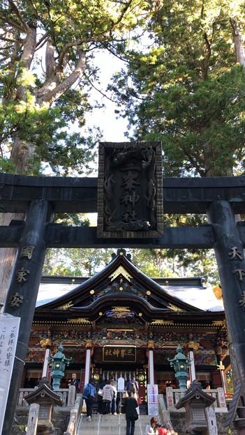 三峯神社(秩父市)社殿