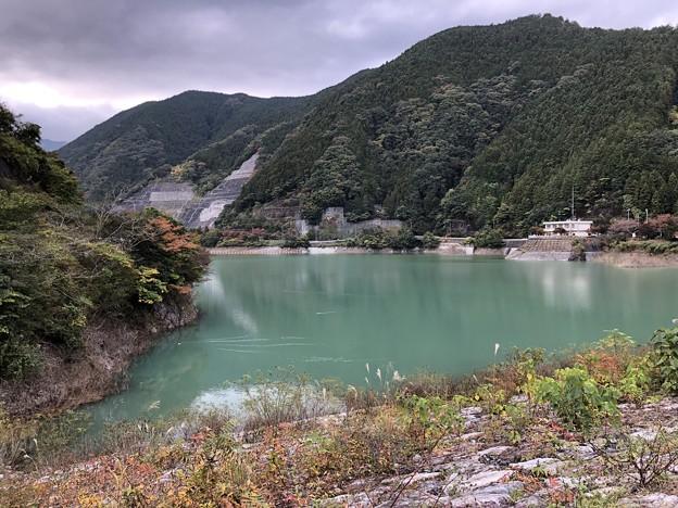 有間ダムより名栗湖(飯能市)