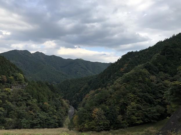 有間ダムより名栗渓谷方向(飯能市)