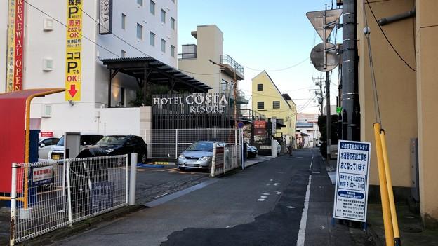飯能駅北口近隣ホテル(埼玉県)