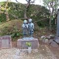 Photos: 城前寺(小田原市)曽我兄弟像と……