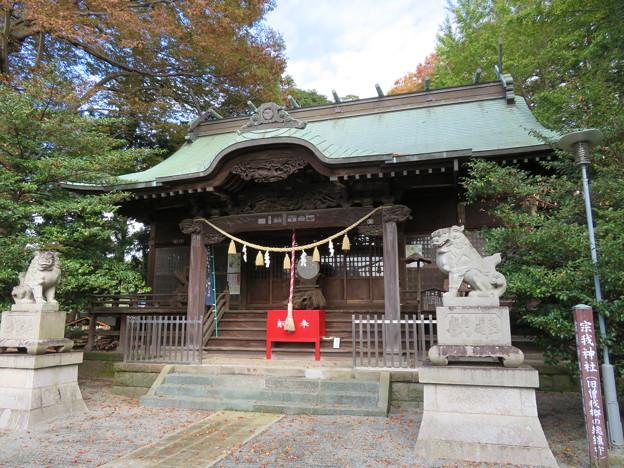 Photos: 宗我神社(小田原市)拝殿