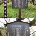二宮尊徳遺髪塚(小田原市)大山道