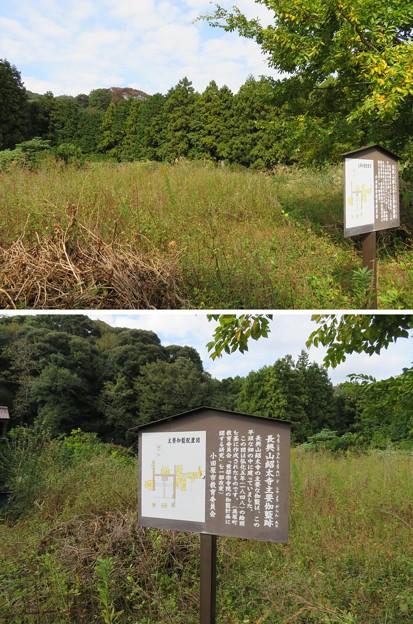 紹太寺(小田原市)主要伽藍跡地