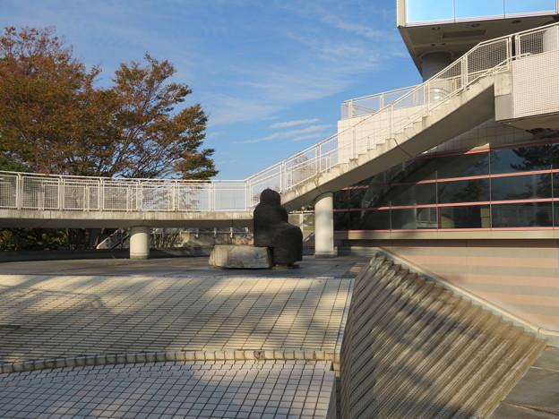 伝 伊東家屋敷跡(伊東市営 物見塚公園)市役所オブジェ