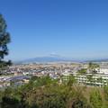 Photos: 韮山城(伊豆の国市)より富士山