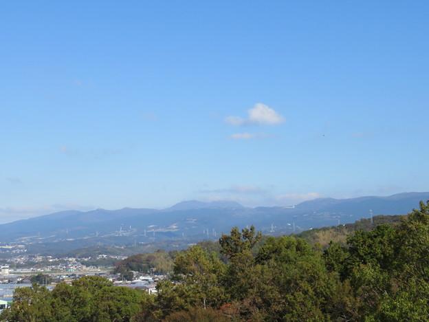 Photos: 韮山城(伊豆の国市)より駒ヶ岳?