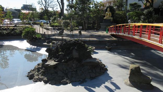 川崎大師 つるの池(川崎市川崎区)