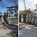 源氏三代供養塔(嵐山町)家臣団墓碑