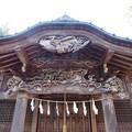 鎌形八幡神社(嵐山町)拝殿