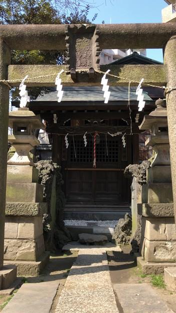 小野照崎神社(下谷)御嶽社・三峯社