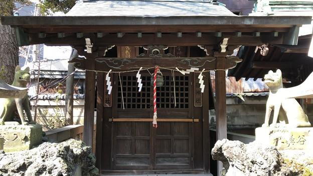 小野照崎神社(下谷)御嶽社・三峯社(神使 狼)