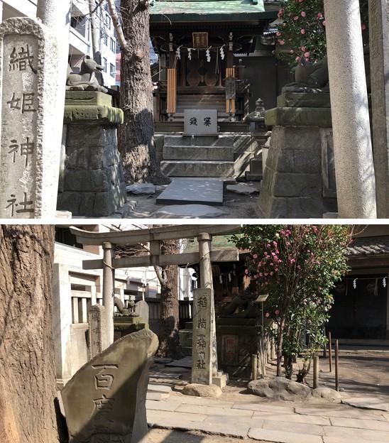 小野照崎神社(下谷)織姫社・稲荷社