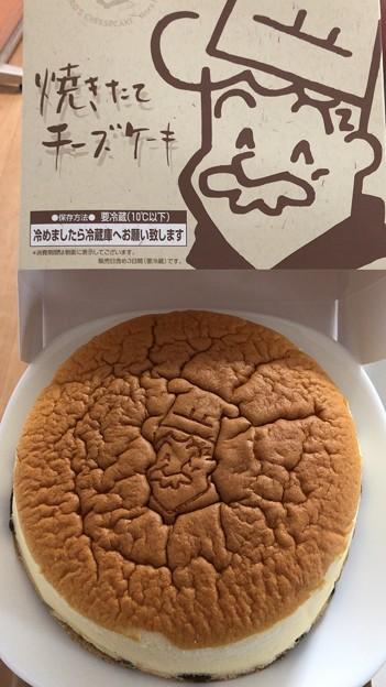 焼きたてチーズケーキ(りくろーおじさんの店)