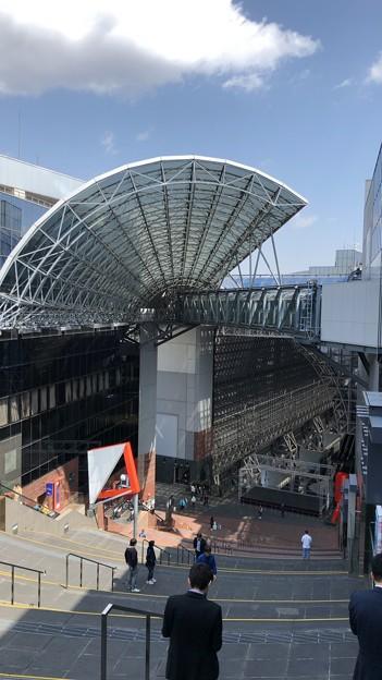 京都駅室町小路広場(大階段・空中径路)