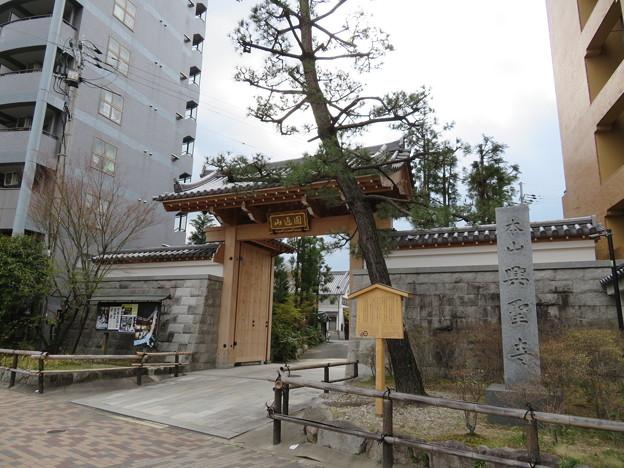 興聖寺(上京区)惣門