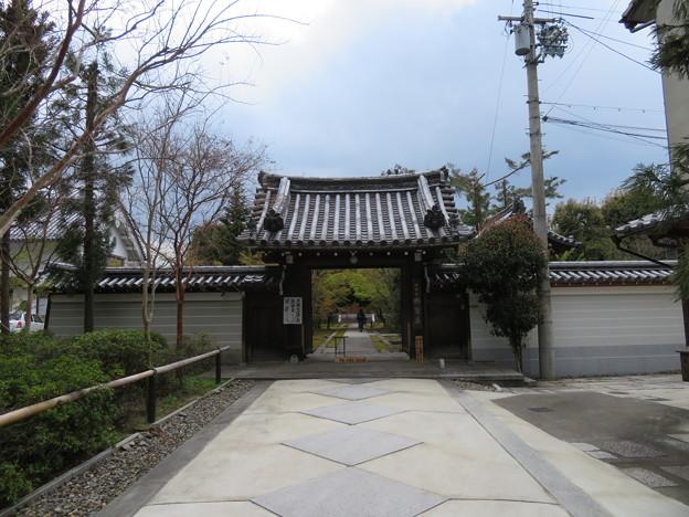 興聖寺(上京区)山門