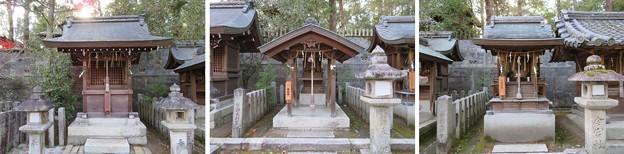 今宮神社(京都市北区)八幡社・大将軍社・日吉社