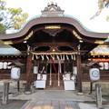 Photos: 応仁の乱勃発地(御靈神社(上御霊神社)。上京区)拝殿