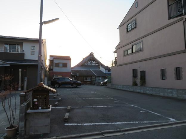 三好筑前屋敷考察地(上京区)